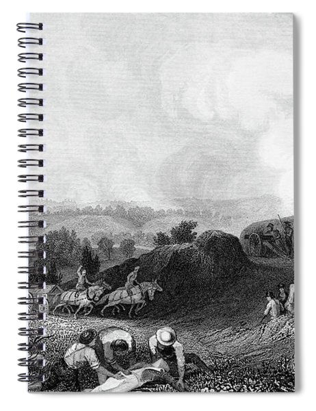 1770s Battle Ground At Stillwater 1777 Spiral Notebook