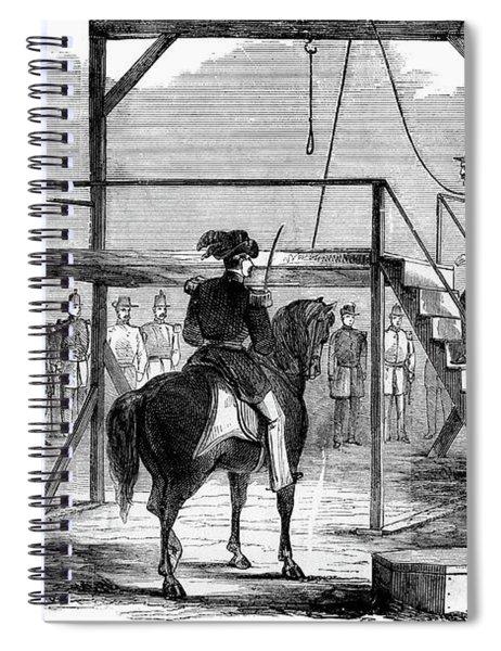 1800s 1850s December 1859 John Brown Spiral Notebook