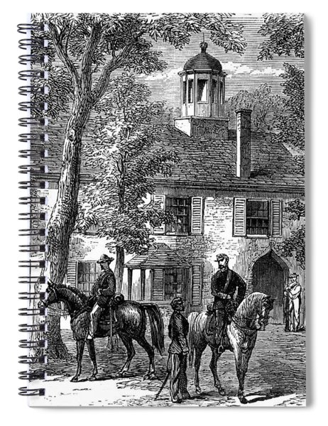 1800s 1860s Fairfax Courthouse Virginia Spiral Notebook