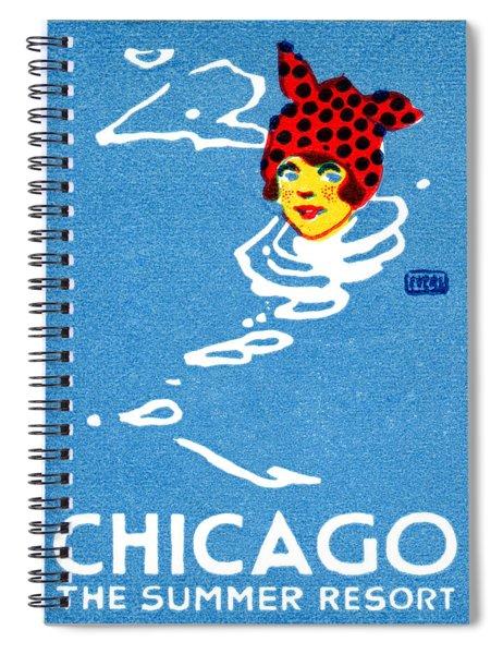 1912 Chicago The Summer Resort 4  Spiral Notebook