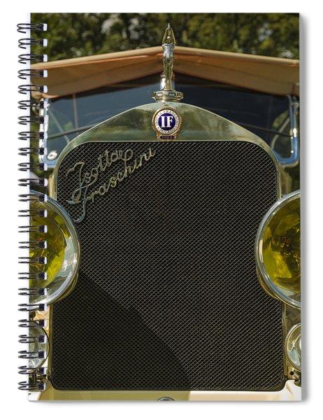1922 Isotta-fraschini Tipo 8 Torpedo By Sala Spiral Notebook