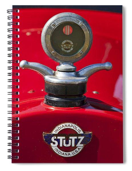 1922 Stutz Spiral Notebook