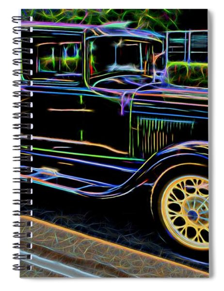 1929 Ford Model A - Antique Car Spiral Notebook