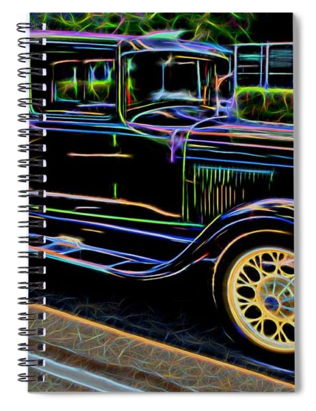 1929 Ford Model A - Antique Car Spiral Notebook