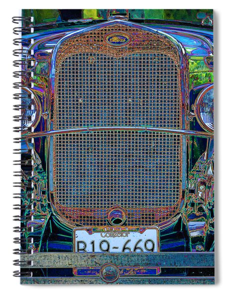1929 Ford Spiral Notebook