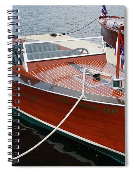 1930 Chris Craft Spiral Notebook