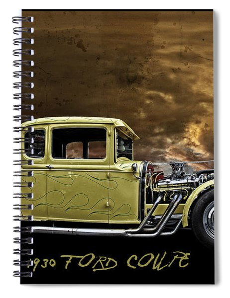 1930 Ford Coupe Spiral Notebook