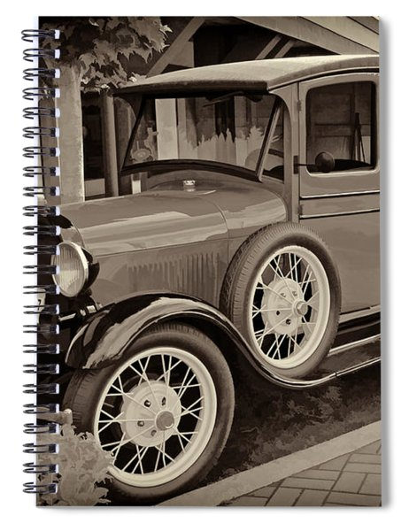 1930 Ford Panel Truck Spiral Notebook