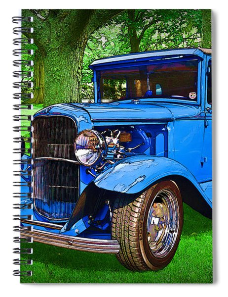 1930 Ford Spiral Notebook