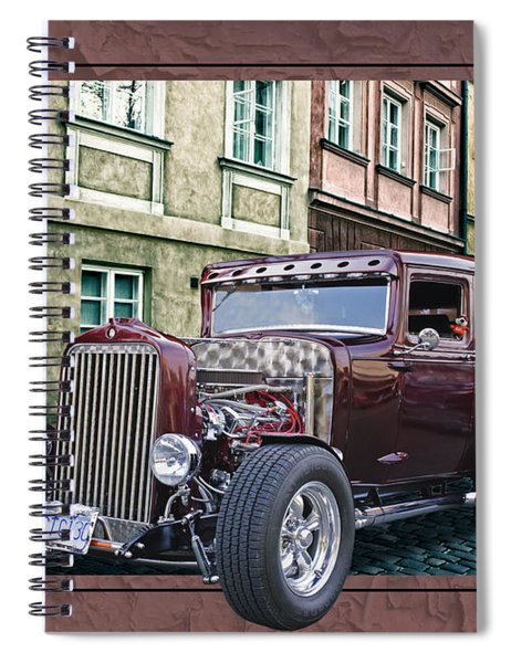 1931 Chev Spiral Notebook