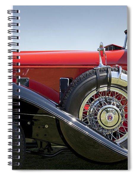 1932 Stutz Bearcat Dv32 Spiral Notebook