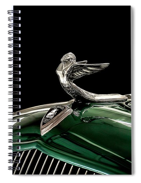 1933 Plymouth Mascot Spiral Notebook
