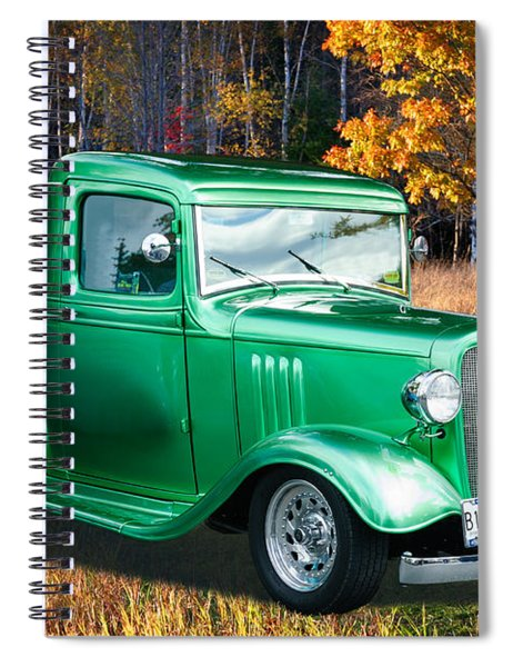 1934 Chev Pickup Spiral Notebook