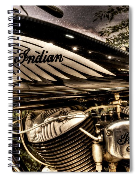 1934 Indian Chief Spiral Notebook
