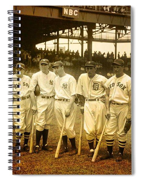 1937 All Stars Spiral Notebook