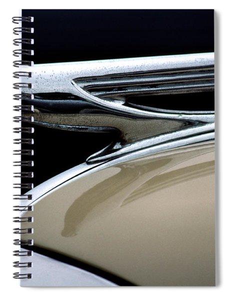 1937 Chevrolet Hood Ornament Spiral Notebook