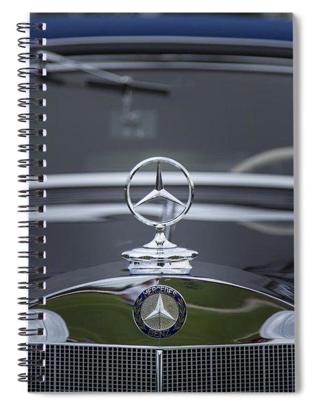1937 Mercedes Benz Spiral Notebook
