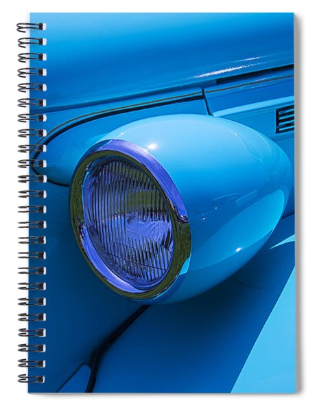 1938 Blue Plymouth Coupe Spiral Notebook