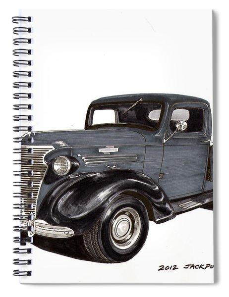 1938 Chevy Pickup Spiral Notebook