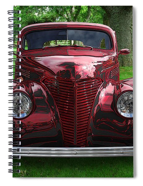 1938 Ford Coupe Spiral Notebook