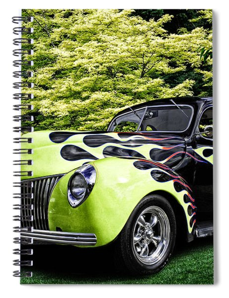 1939 Ford Coupe Spiral Notebook