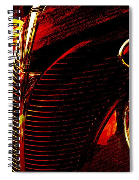 1939 Ford Spiral Notebook
