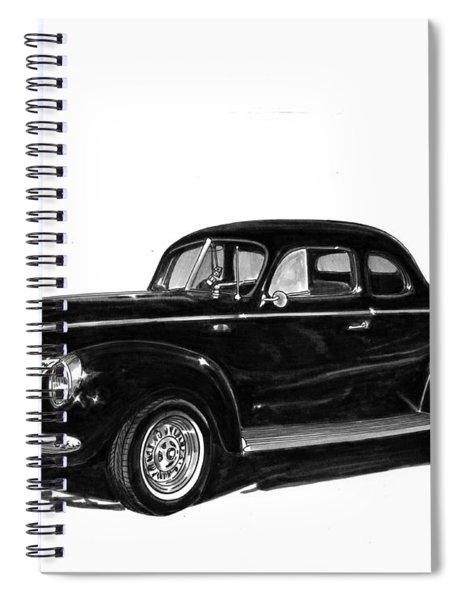 1940 Ford Restro Rod Spiral Notebook
