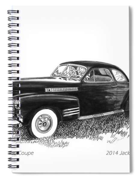 1941 Cadillac 62 Coupe Spiral Notebook