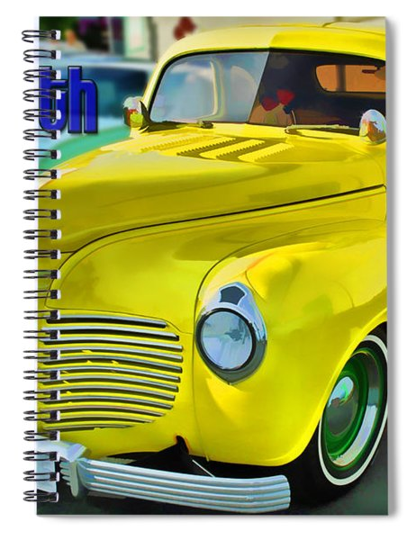 1941 Plymouth Spiral Notebook