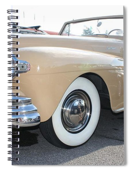 1948 Lincoln Continental Convertible Spiral Notebook