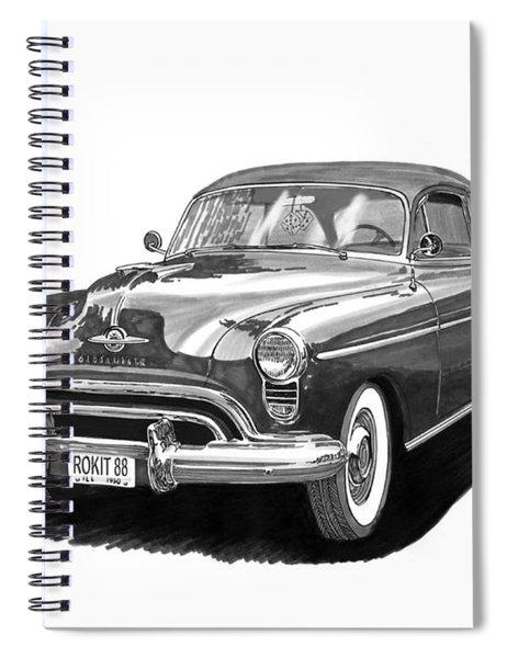 1950 Oldsmobile Rocket 88 Spiral Notebook