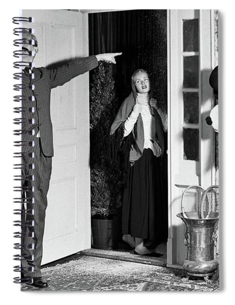 1950s Amateur Theater Turn Of The 20th Spiral Notebook