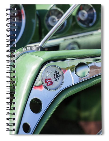 1950s Chevrolet Impala Detail Spiral Notebook