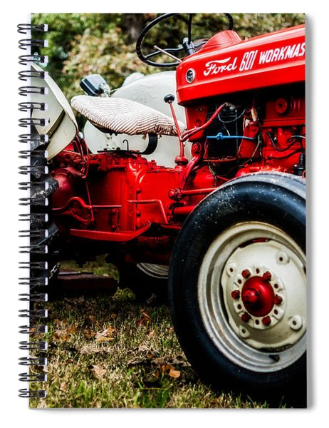 1950s-vintage Ford 601 Workmaster Tractor Spiral Notebook
