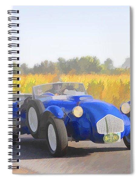1953 Allard J2x Roadster Spiral Notebook