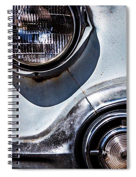 1953 Chevy Headlight Detail Spiral Notebook