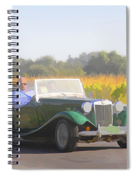 1953 Mg Td Spiral Notebook