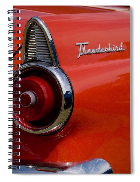 1955 427 Thunderbird Tail Light Spiral Notebook