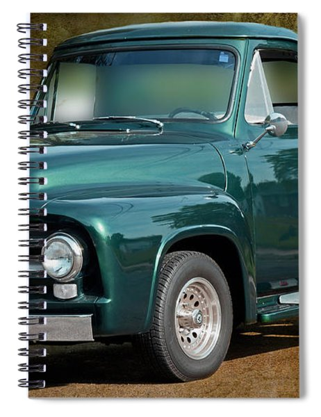 1955 Ford Truck Spiral Notebook