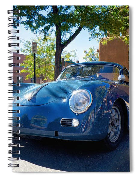 1956 356 A Sunroof Coupe Porsche Spiral Notebook