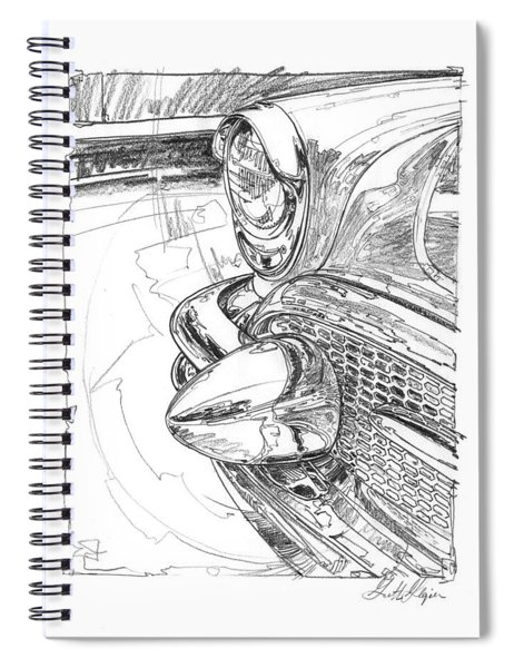 1956 Buick Roadmaster Study Spiral Notebook