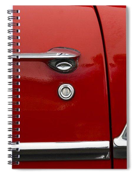 1956 Chevy Door Detail Spiral Notebook