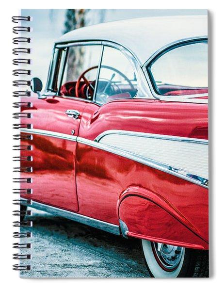 1957 Chevy Bel Air Spiral Notebook