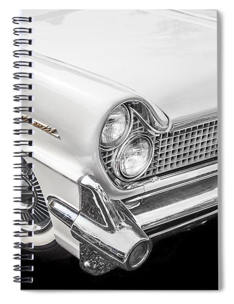 1959 Lincoln Continental Chrome Spiral Notebook