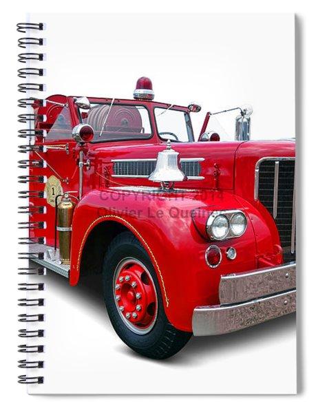 1959 Maxim Fire Truck Spiral Notebook