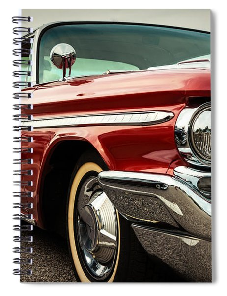 1960 Desoto Fireflite Coupe - Three Quarters Front Spiral Notebook
