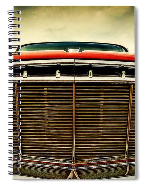 1960 Desoto Fireflite Coupe Grill Spiral Notebook