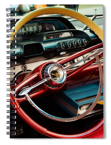 1960 Desoto Fireflite Coupe Steering Wheel And Dash Spiral Notebook