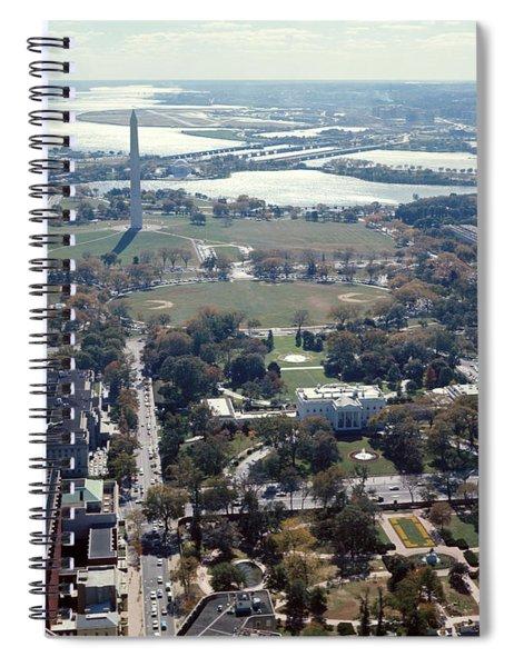 1960s Aerial View Washington Monument Spiral Notebook