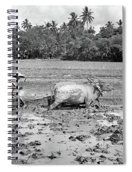 1960s Agriculture Farming Native Man Spiral Notebook